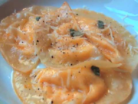 Pasta by shape recipes for What to serve with butternut squash ravioli