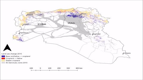 How conflict affects land use agricultural activity in areas how conflict affects land use agricultural activity in areas seized by the islamic state iopscience sciox Gallery