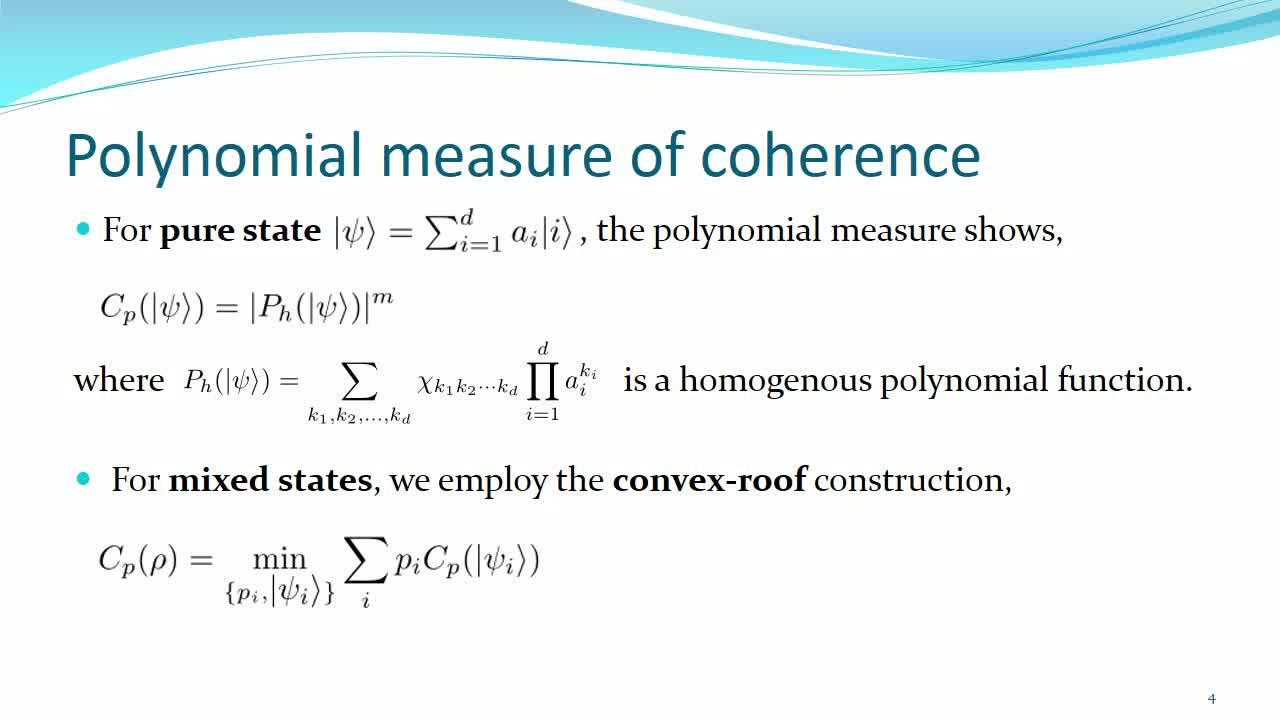 Polynomial measure of coherence iopscience falaconquin