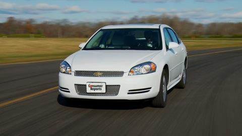 2012 Chevrolet Impala Reviews, Ratings, Prices - Consumer Reports