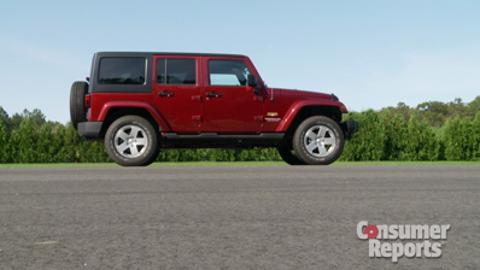 2013 Jeep Wrangler Reliability - Consumer Reports