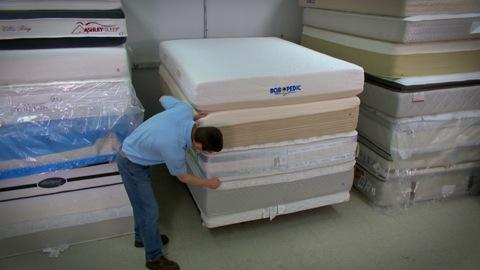 testing mattresses to find the best