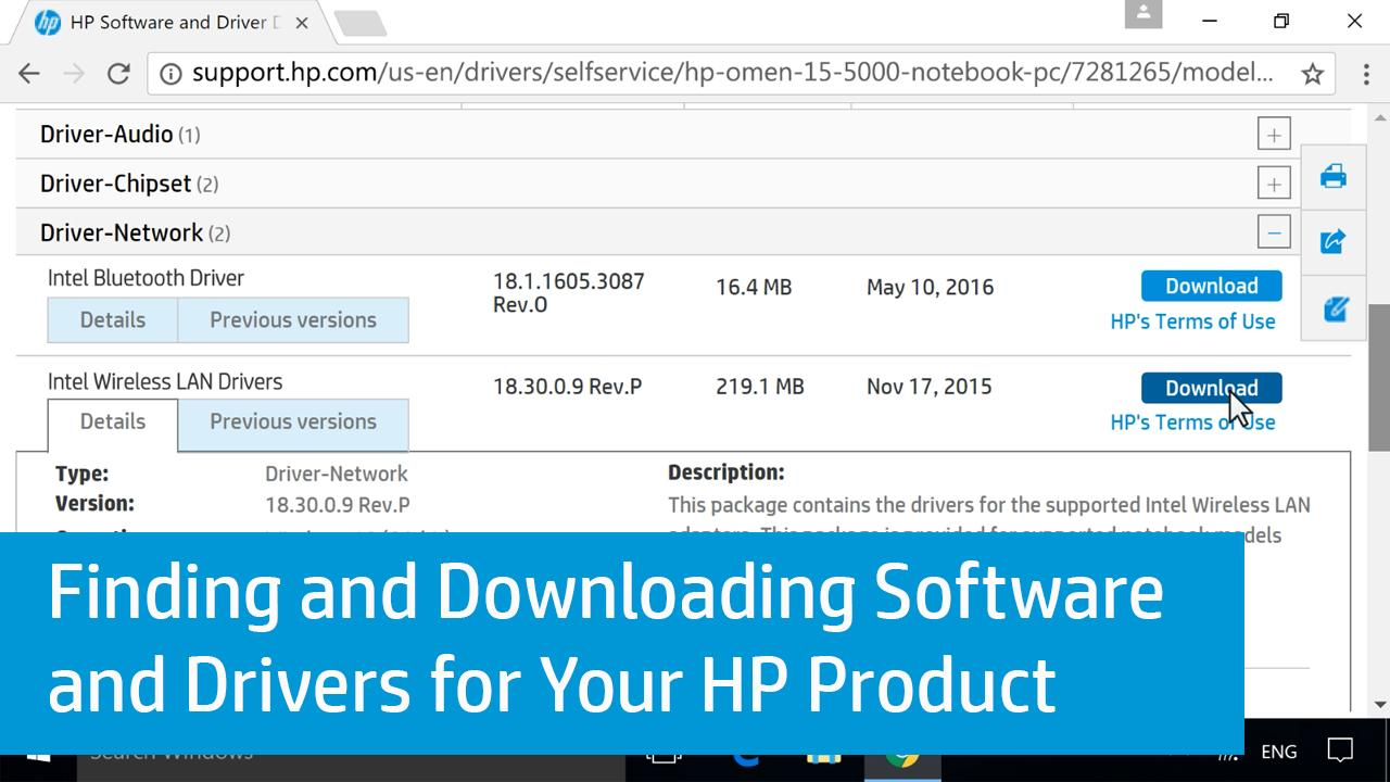 hp software and driver downloads for hp printers laptops