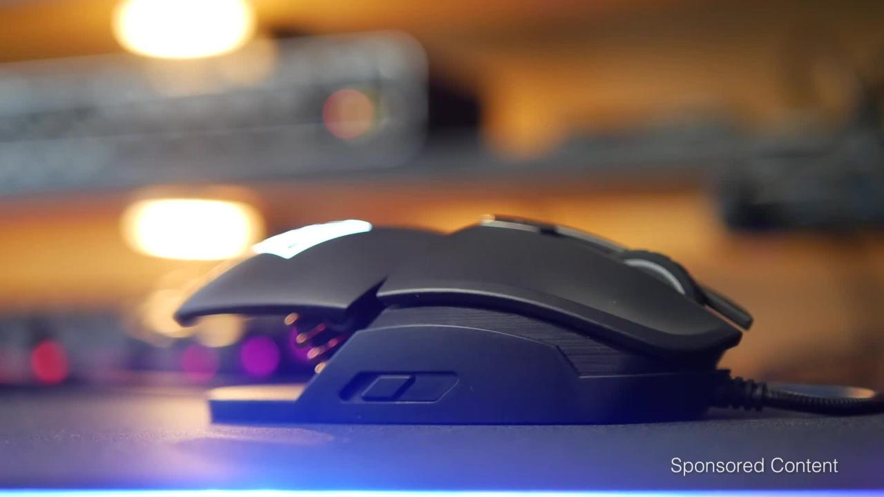 OMEN by HP Reactor Mouse Influencer Reviews