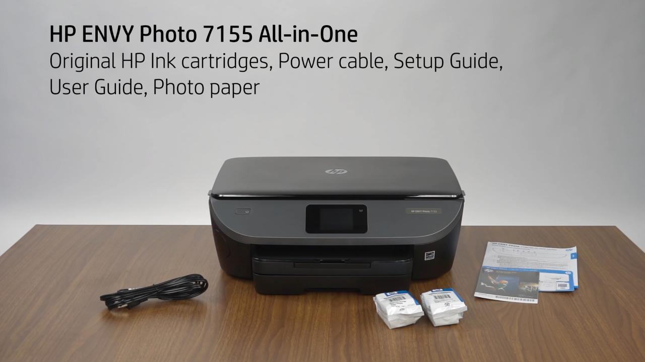 HP ENVY Photo 7100 Unboxing Video (WW) - Products - HP Inc Video Gallery -  Products