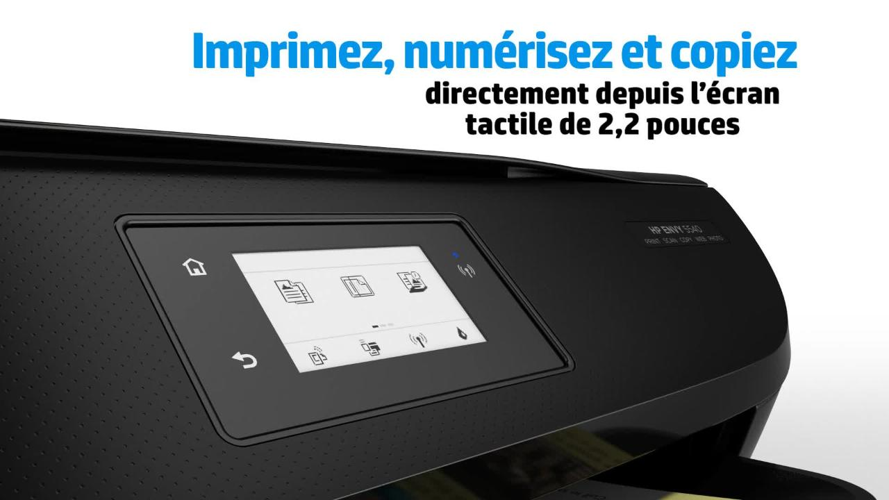 imprimante hp envy 5540