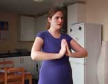 What can I do during pregnancy to make birth easier?