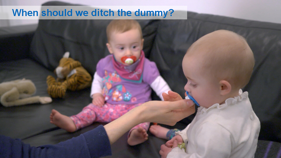 When should we ditch the dummy? (9 to 12 months)