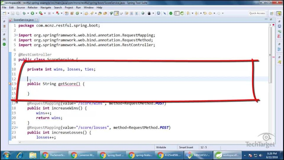 Step-by-step Spring Boot RESTful web