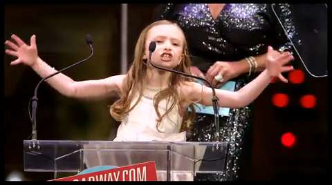 BACA 2013 Highlight: <i>Annie</I>'s Emily Rosenfeld Calls Out the 'Older Queens' As She Accepts Bette Midler's Award
