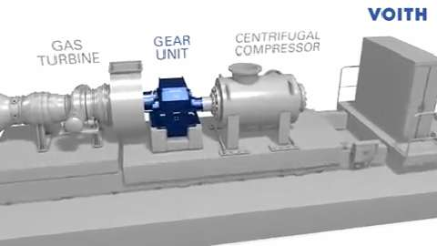 Turbo gear units | Voith