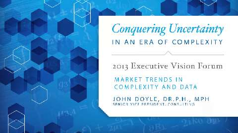 Market Trends in Complexity & Data