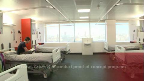Expanded Phase I Unit in London