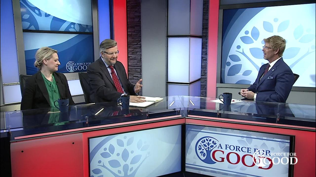 FORCE FOR GOOD: Michael Novak, an American Catholic philosopher