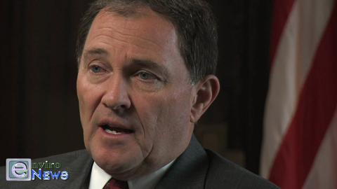 Governor Herbert on the Uintah Basin Oilfields