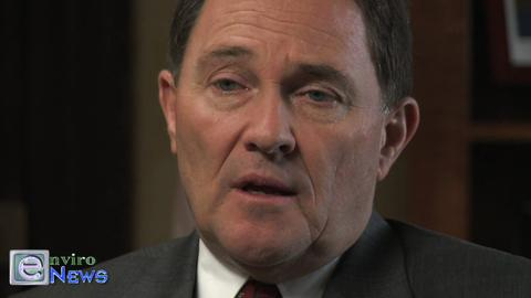 Governor Gary R. Herbert is Pinned Down on Source Polluters by Monica Bellenger