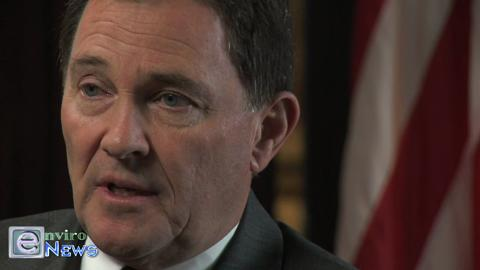 Governor Gary Herbert Discusses the Grid and Transmission Lines