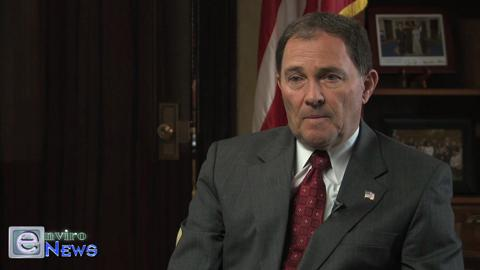 Governor Gary Herbert is Questioned About His Involvement in the Alton Coal Scandal