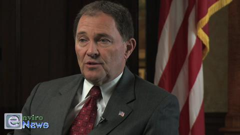 The View of Governor Gary Herbert on Fracking for Natural Gas