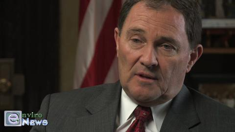 Governor Herbert Addresses the Contentiousness of HJR 12