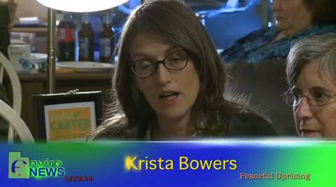 Krista Bowers Recalls Being Threatened by Federal Agents and Why She Went Ahead With Her Act of Protest