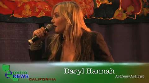Daryl Hannah Recalls Being Arrested and Fighting Back Against Mountain Top Removal in West Virginia