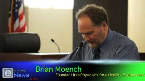 "Dr. Brian Moench of UPHE: ""Stericycle is constantly releasing what really amounts to poison"""
