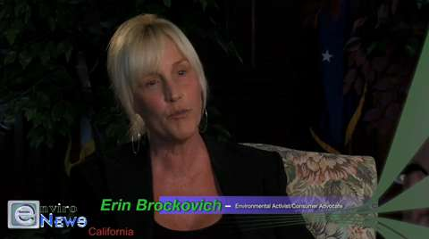 Erin Brockovich Speaks Words of Encouragment to Utah's Stericycle Activists