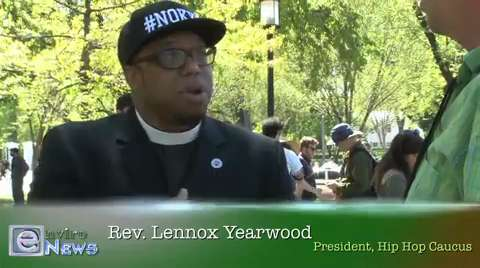 Rev. Lennox Yearwood of Hip Hop Caucus on Divestment, Keystone XL, Climate Change and More