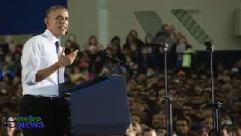 President Obama Speaks to Pumped-up Boise State University Crowd Following State of the Union