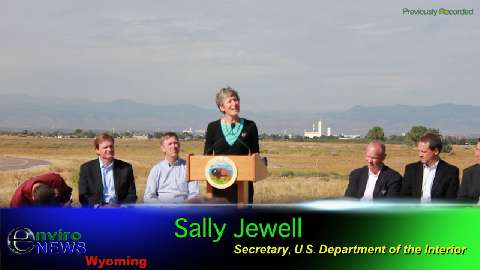 Press Conference Footage: DOI With 4 Western Guvs: No Endangered Listing for Greater Sage Grouse