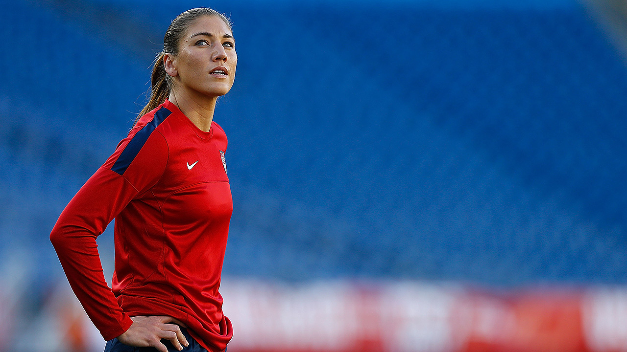 Circumstances have yet to threaten Hope Solo's career, unlikely to now
