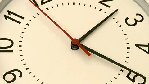 Fast Clock Time Motion Background
