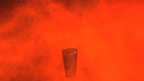 Spray Paint Can Explosion