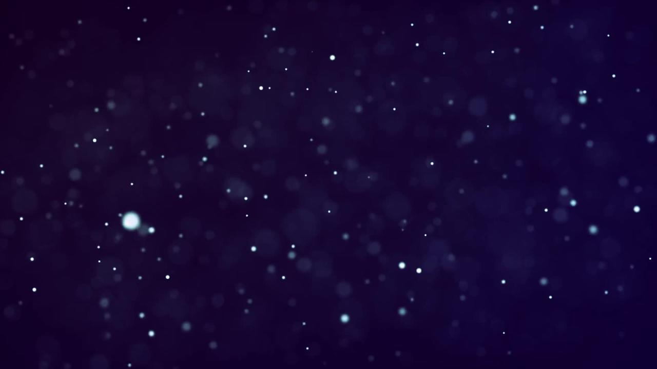 Stars Glitter Glittering Blue Space Abstract
