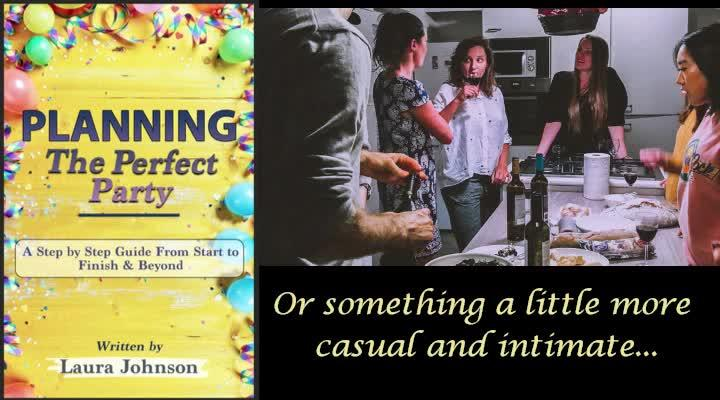Party Planning Book Promo