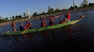 Dragon Boating on the Oklahoma River