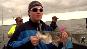 "Striper Fishing with ""Sparky's"" at Lake Texoma"