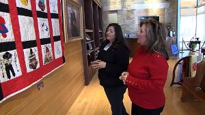 Quilt Exhibit at the Chickasaw Cultural Center