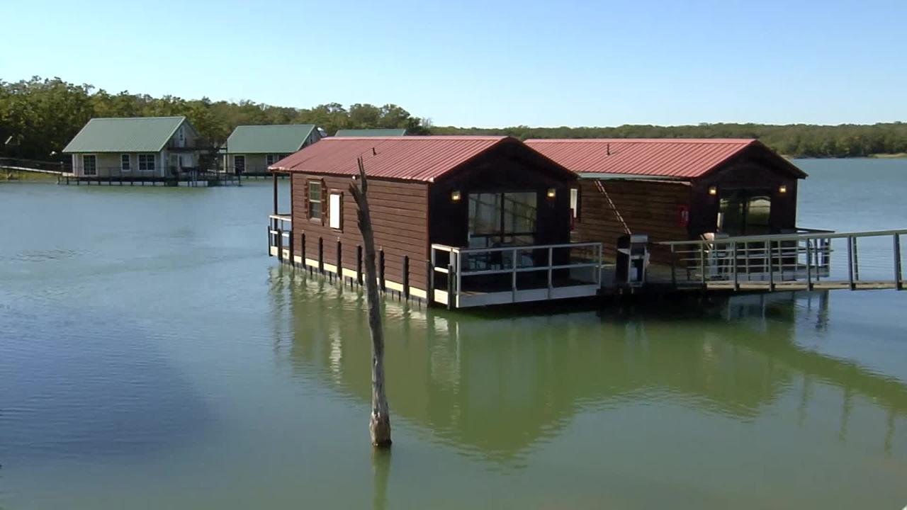 Lake Murray Floating Cabins Discover Oklahoma Tv