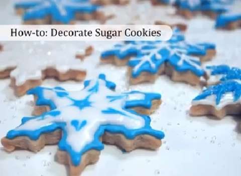 How to decorate cookies with beautiful designs