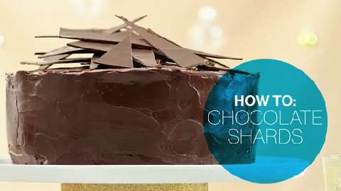 How to make chocolate shards