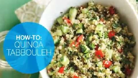 How to make quinoa tabbouleh