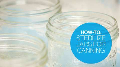 How to sterilize jars for canning canadian living for How long to sterilize canning jars