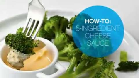 How to make five-ingredient cheese sauce