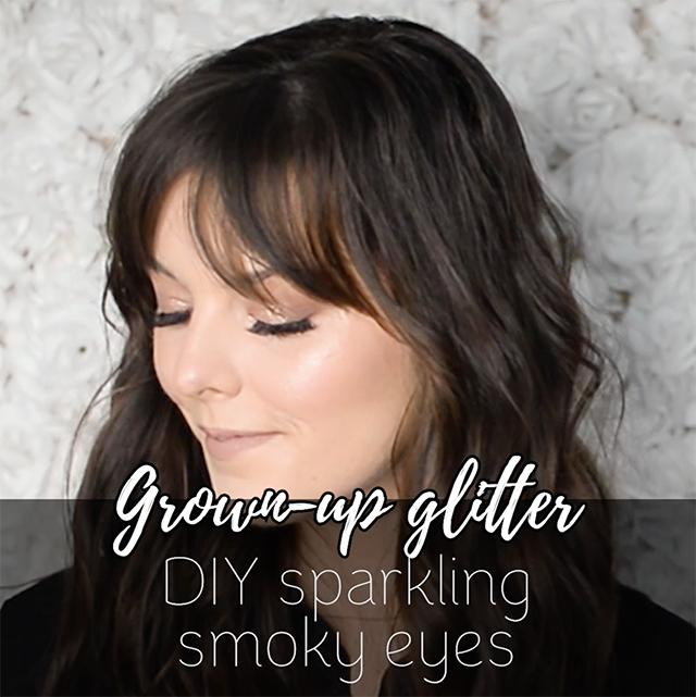How to get a sparkly smoky eye
