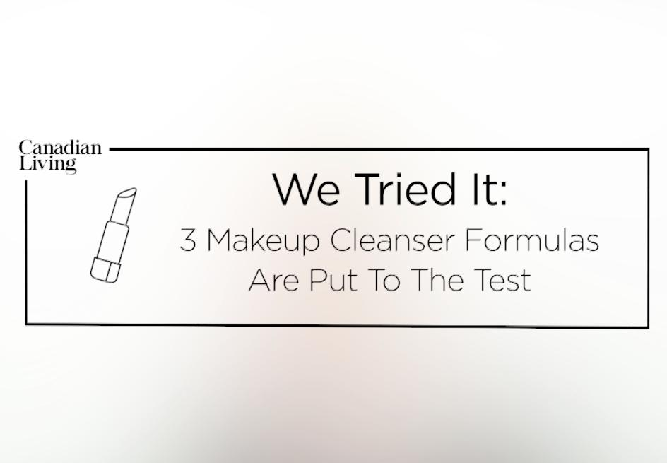 We put 3 cleansers to the ultimate makeup removal test