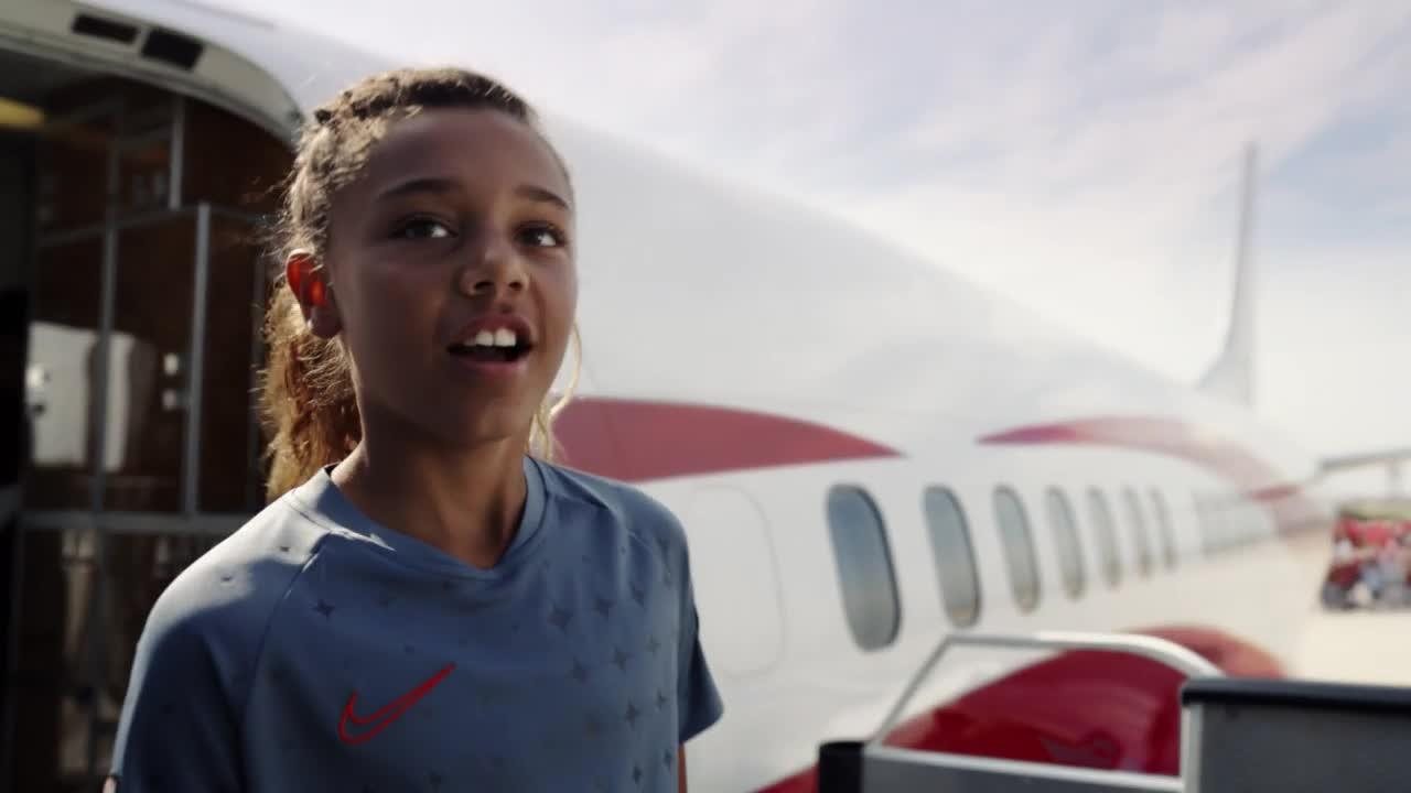 NIke's rousing Women's World Cup spot features its first-ever soccer jersey made just for girls