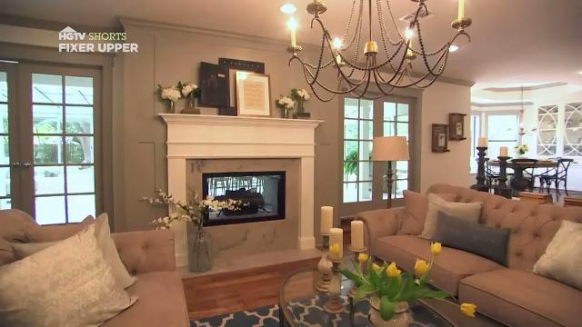 Open And Updated Living Room Fixer Upper Hgtv Asia Web