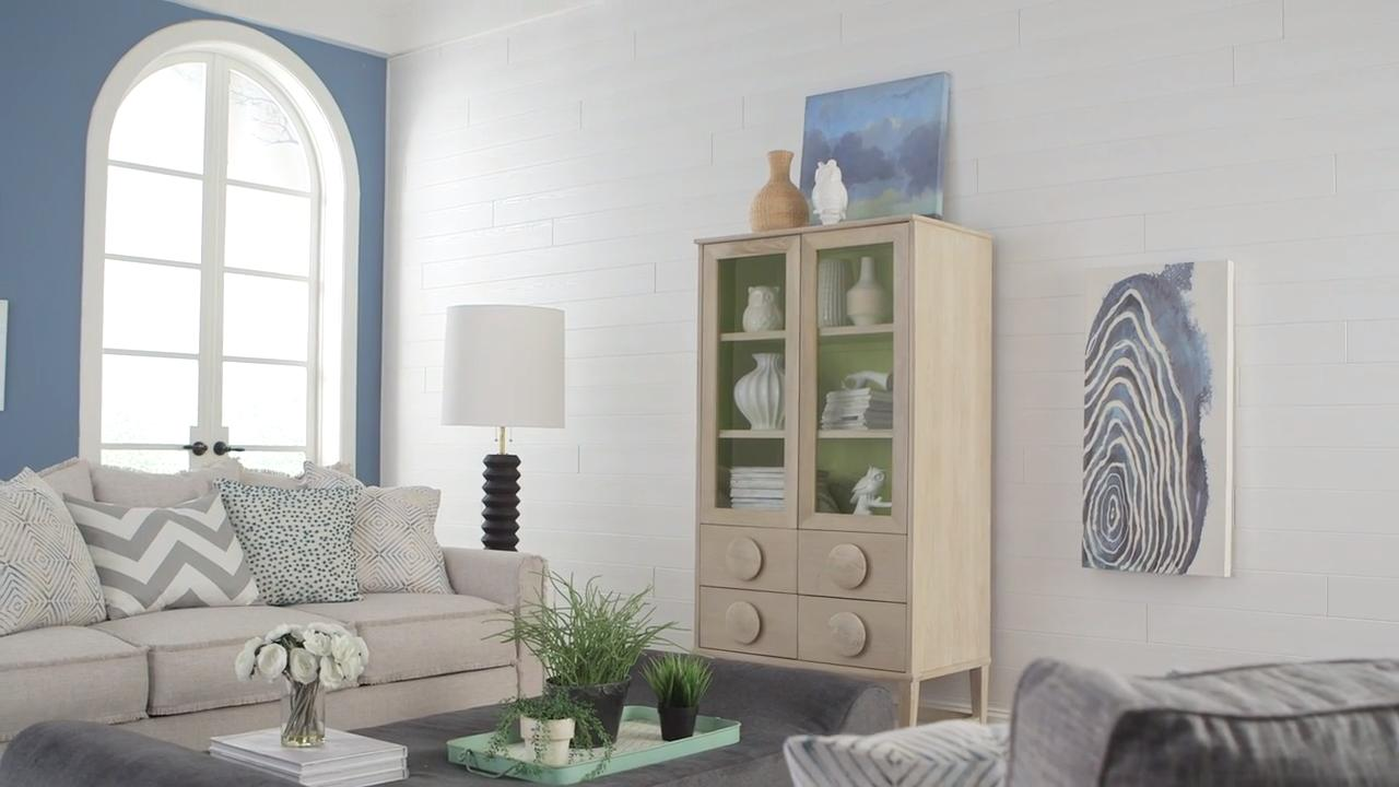 How to Install WoodHaven Planks on Walls